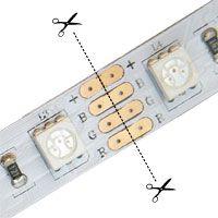 Led Tutorials Rgb Led Strip Light Quick Connectors Installing Led Strips Installing Led Strip Lights Led Light Projects