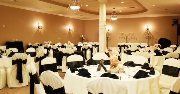 Beautiful Room Set Up For 100 Guests. The Ceremony And