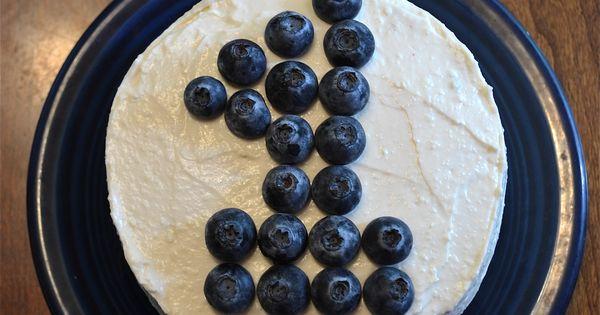 No sugar banana cake with cream cheese frosting the smash cake! Glad