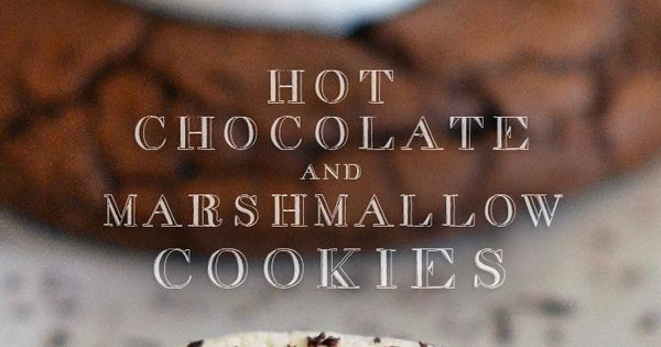Hot Chocolate Cookies with Marshmallows. Enjoy these for the holidays with a hot mug of hot chocolate and a warm fire stepable recipes cookies