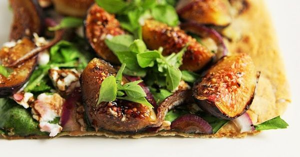 ... food | Pinterest | Fresh Figs, Goats Cheese Flatbread and Figs