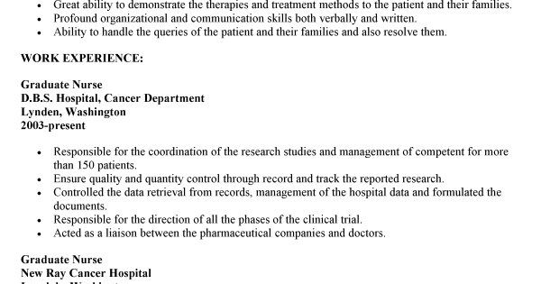 Examples Nursing Resumes For New Graduates Serversdb Professional   Examples  Of Nursing Resumes  Examples Of Nurses Resumes