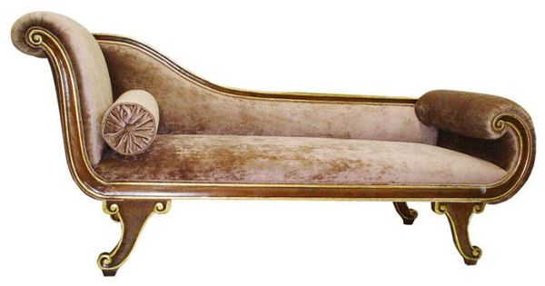 Recamier ingl s mueble france italian and other for Definicion de divan