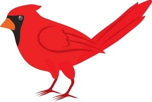 Bird Clipart Red Cardinal Bird Clipart Illustration By Rosie