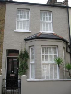Grey Painted Houses Uk Google Search Terrace House Exterior Exterior Paint Colors For House House Paint Exterior