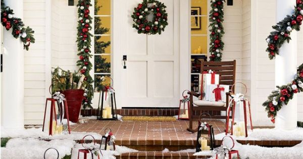 Outdoor Christmas Decor and Holiday Decorating Ideas