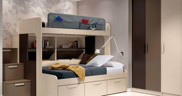 La cama superior tiene una medida habitual para colch n for Medidas de un colchon twin