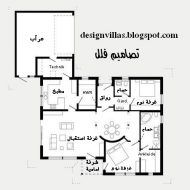 مخطط بيت دور واحد سعودي Model House Plan 20x40 House Plans Dream House Plans