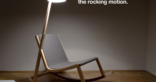 A rocking chair that generates electricity from the rocking motion. name of