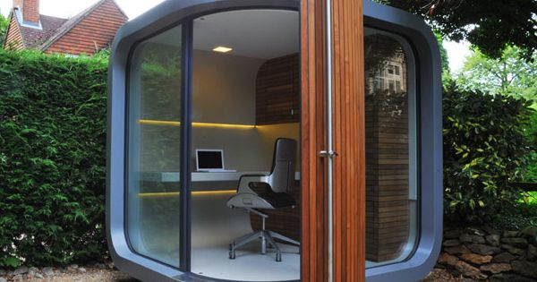 Small Home Office Design | prefab home office3 Small Home Office in