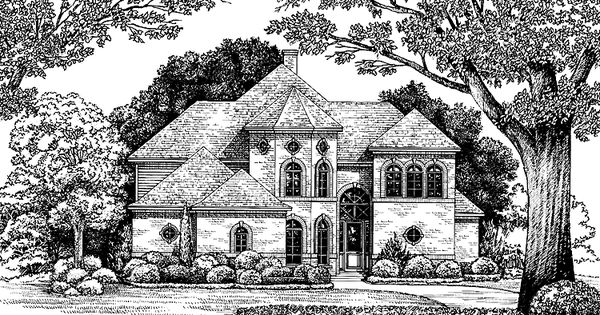 Eplans Italianate House Plan Fairy Tale Imagery With