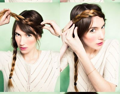 Love this braid crown! and this website has a lot of other