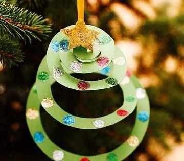 Print It Simple Paper Ornaments Christmas Crafts Preschool Christmas Christmas Ornaments