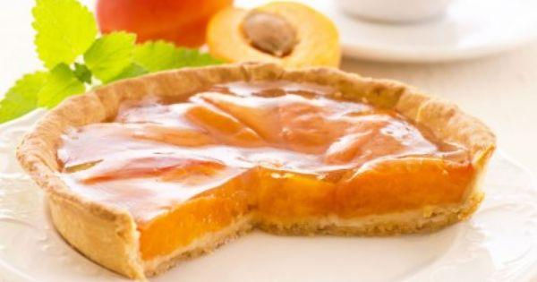 تارت المشمش بعجينة البريزيه Recipe Pie Tart Food Arabic Food