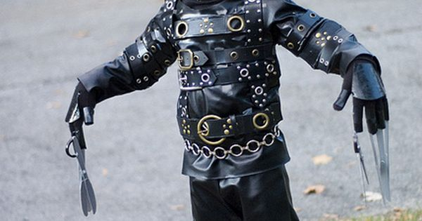 Edward Scissorhands children's costume