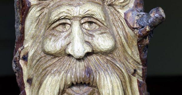 Wood spirits carvings adventures of scjack wooden eye