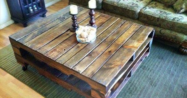 15 adorable pallet coffee table ideas | pallet coffee tables