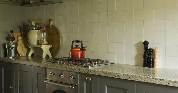 Keuken landelijke stijl accessoires en verf van pure and original verkrijgbaar bij de potstal in - Verf keuken lichtgrijs ...