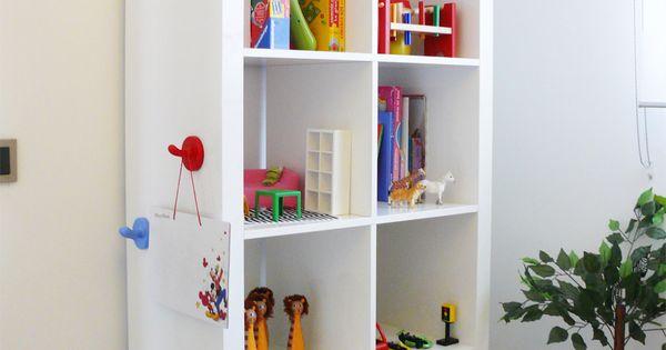 Dormitorios infantiles ideas para decorarlas estanteria - Ideas dormitorios infantiles ...