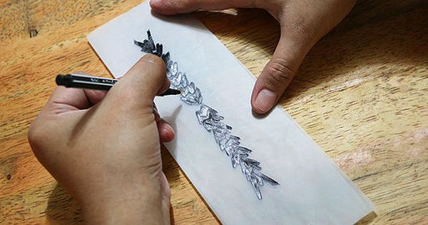 How to Create Your Own Temporary Tattoo: 8 steps...good way ...