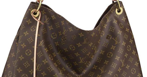 Louis Vuitton Artsy MM Monogram Canvas Handbag