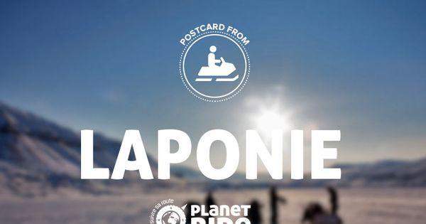 Partez découvrir la Laponie à motoneige avec Planet Ride et nos ...