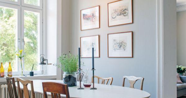 Interiores n rdicos interior mezcla de cl sico y nuevo for Diseno escandinavo interiores