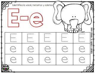 Fichas De Aplicacion De Las Vocales Ideales Para Trabajar Con Actividades De Letras Actividades De Lectura Preescolar Actividades Del Alfabeto En Preescolar