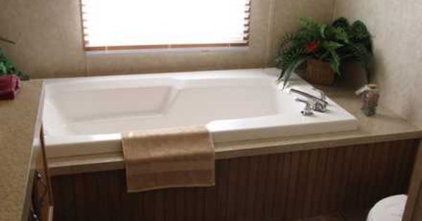 Double wide mobile home remodel mobile home remodeling for Mobile home master bathroom remodel