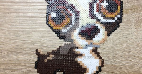 Chihuahua Dog Perler Beads By Xarjunx Hama Beads