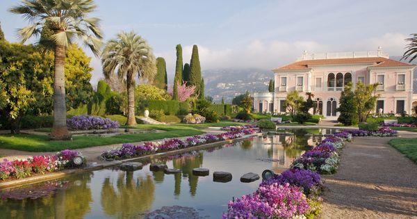 Ephrussi de rothschild villa and gardens saint jean cap - Maison ephrussi de rothschild ...