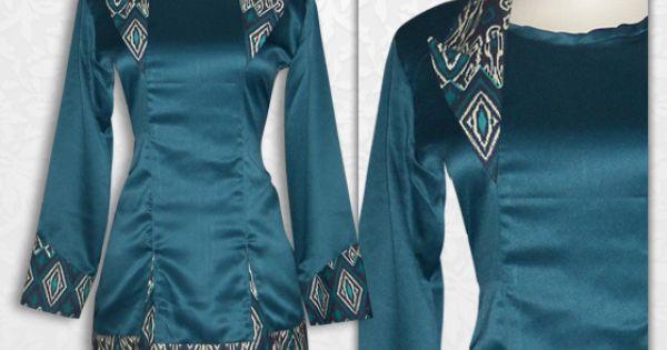 Batik kerja wanita blus batik cantik lengan panjang