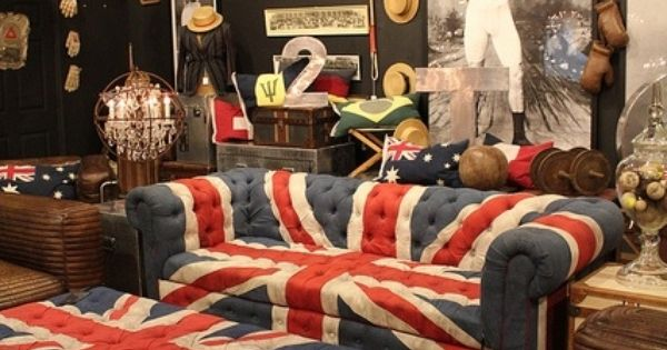 Union jack the british are coming pinterest for Ohrensessel union jack