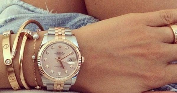 Rolex love. Rose gold instagr.in/...