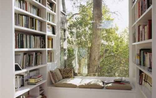 This peaceful book nook. | 22 Things That Belong In Every Bookworm's