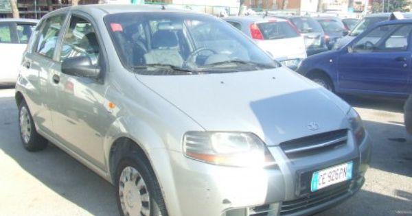 Daewoo Kalos 1 2 Ok Neopatentati Marcucci Car With Images Daewoo Car Vans