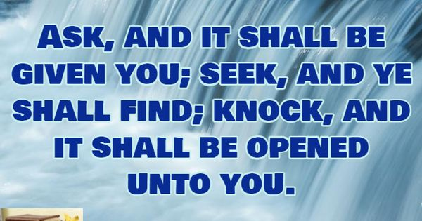 seek and you will find bible gateway