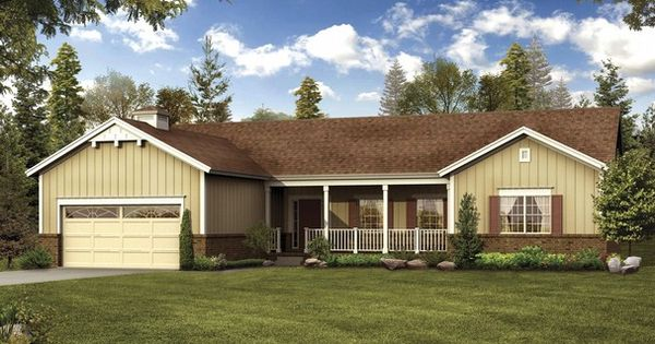 Large One Story Floor Plans