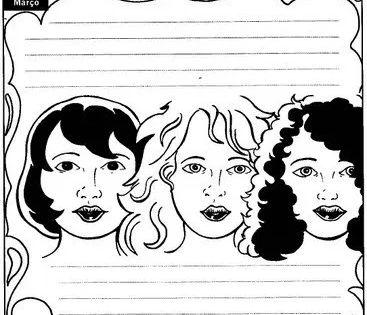 34 Atividades Dia Internacional Das Mulheres Para Imprimir Dia