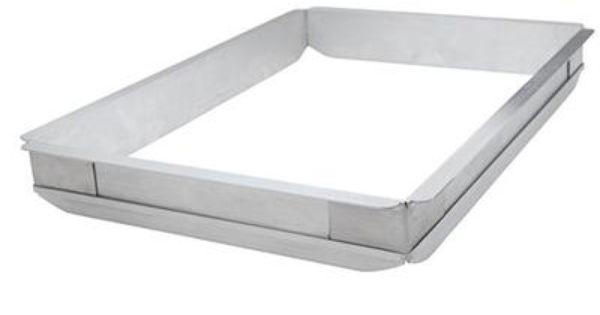 Winco Commercial 1 2 Sheet Aluminum Sheet Pan Extender Winco Sheet Pan Aluminium Sheet