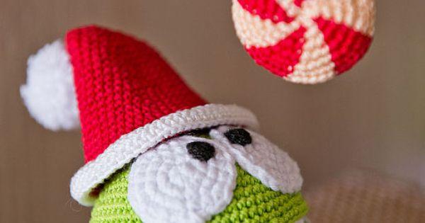 Amigurumi Craft Magazine : #crochet Om Nom #amigurumi Toy / Amigurumi Pinterest ...