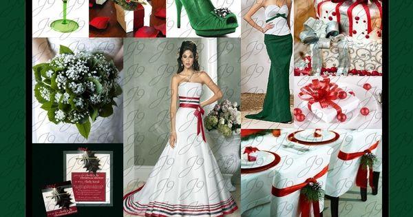 mariage de thème de Noël  déco de mariage  Pinterest  mariage à ...