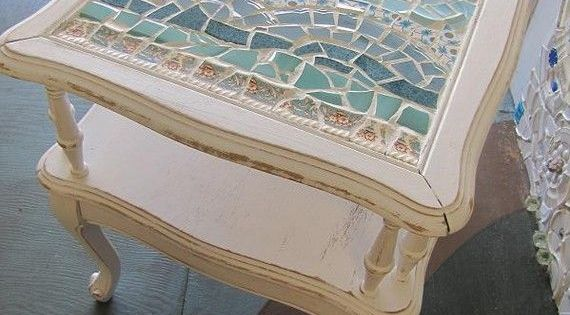 Do It Yourself Furniture Ideas: 50 DIY Projects With Mosaic