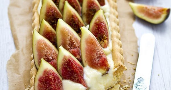 Figs, Fig tart and Tarts on Pinterest