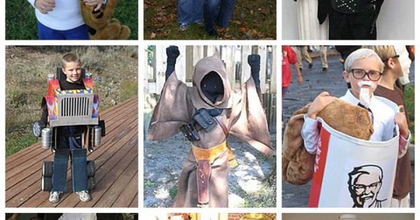 Fall festival Costumes for Boys