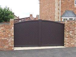 Automatic Sliding Gates Uk Sliding Gate Electric House Driveway Design