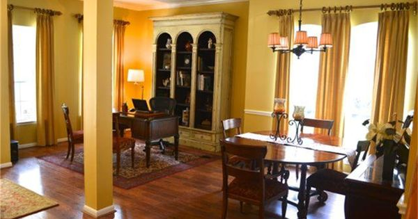 Formal Living Room Used As A Home Office And Formal Dining