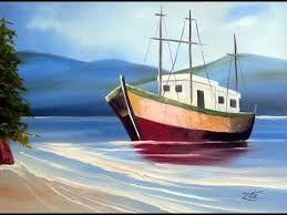 Resultado De Imagem Para Pinturas Em Oleo Barcos Pintura Em