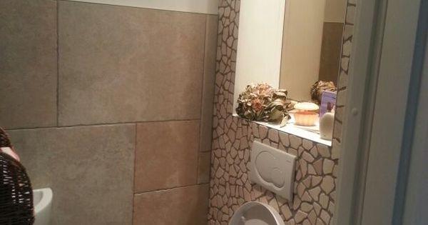 Toilet met kiezels badkamer pinterest toiletten en met - Badkamer kamer model ...