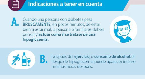 #Infografia Tratamiento de la hipoglucemia | Diabetes